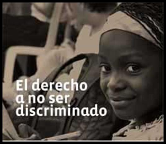 Uso Obligatorio de Cartel que prohíba actos de discriminación racial