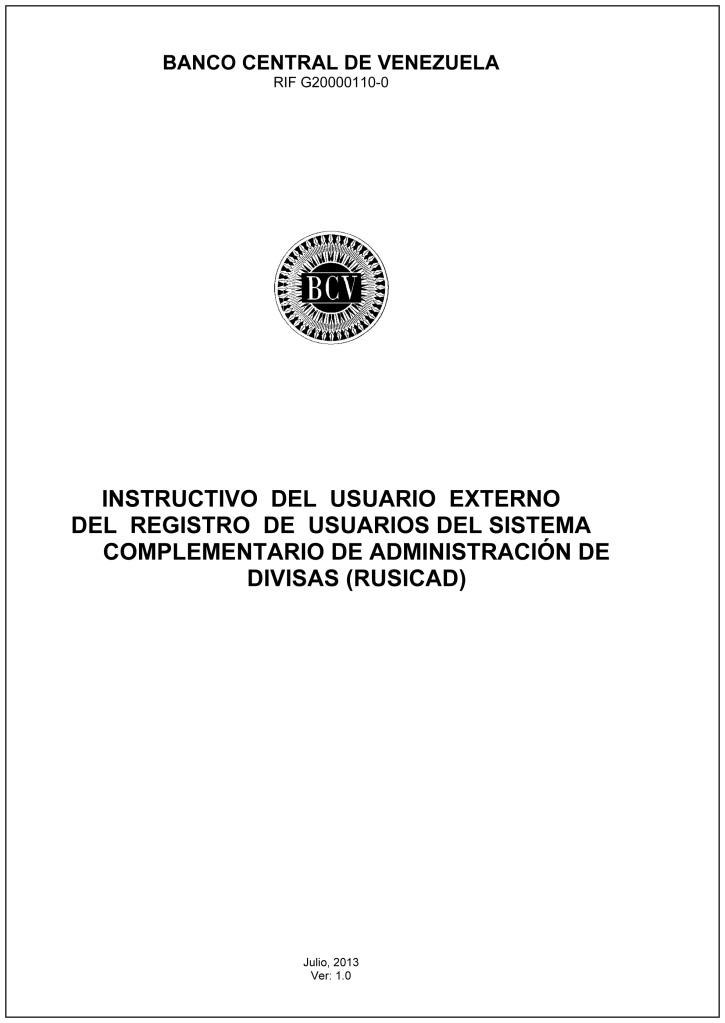 Microsoft Word - Instructivo del Rusicad_v1.0_Externo PDF