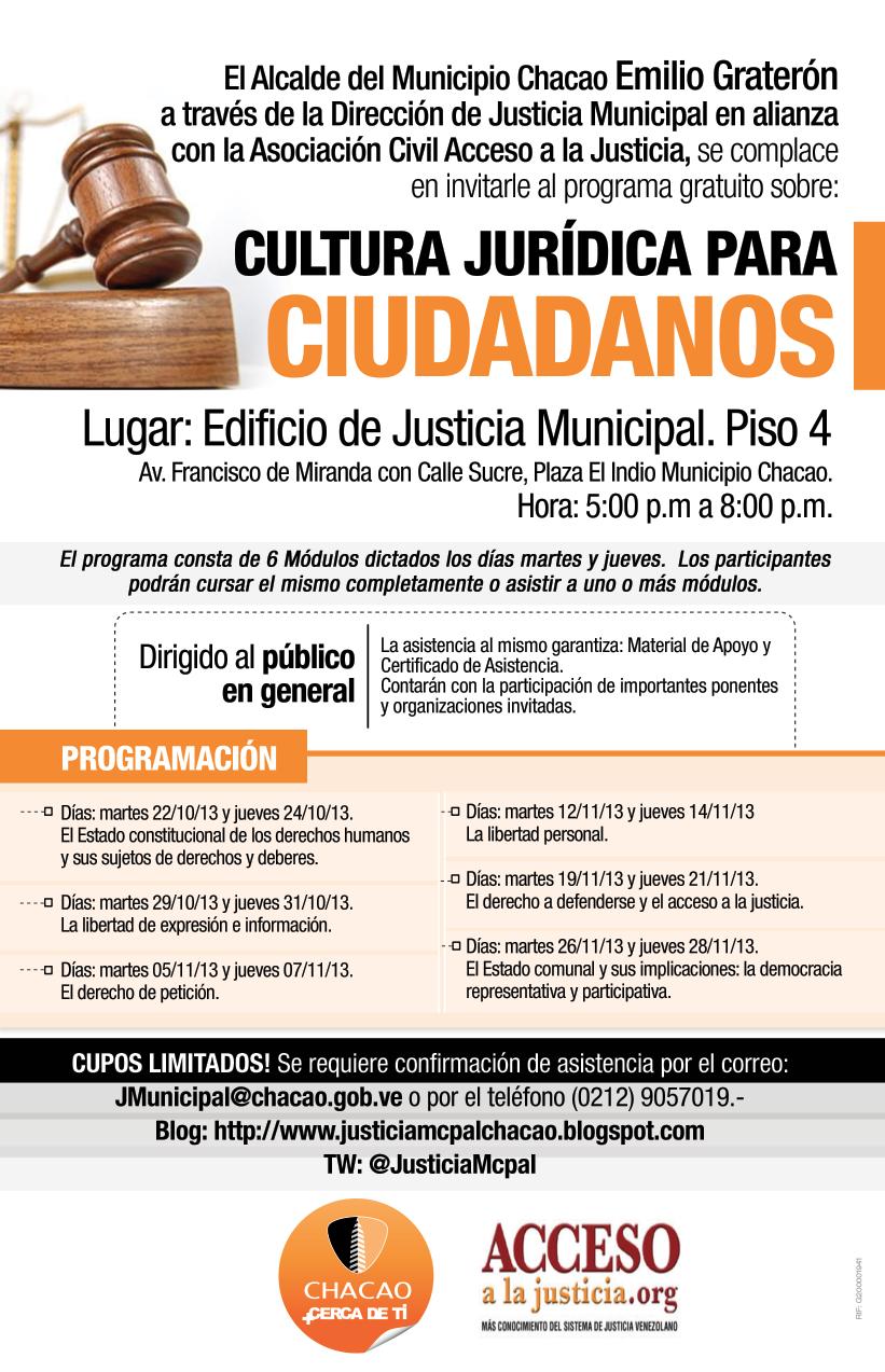 programa cultura jurídica