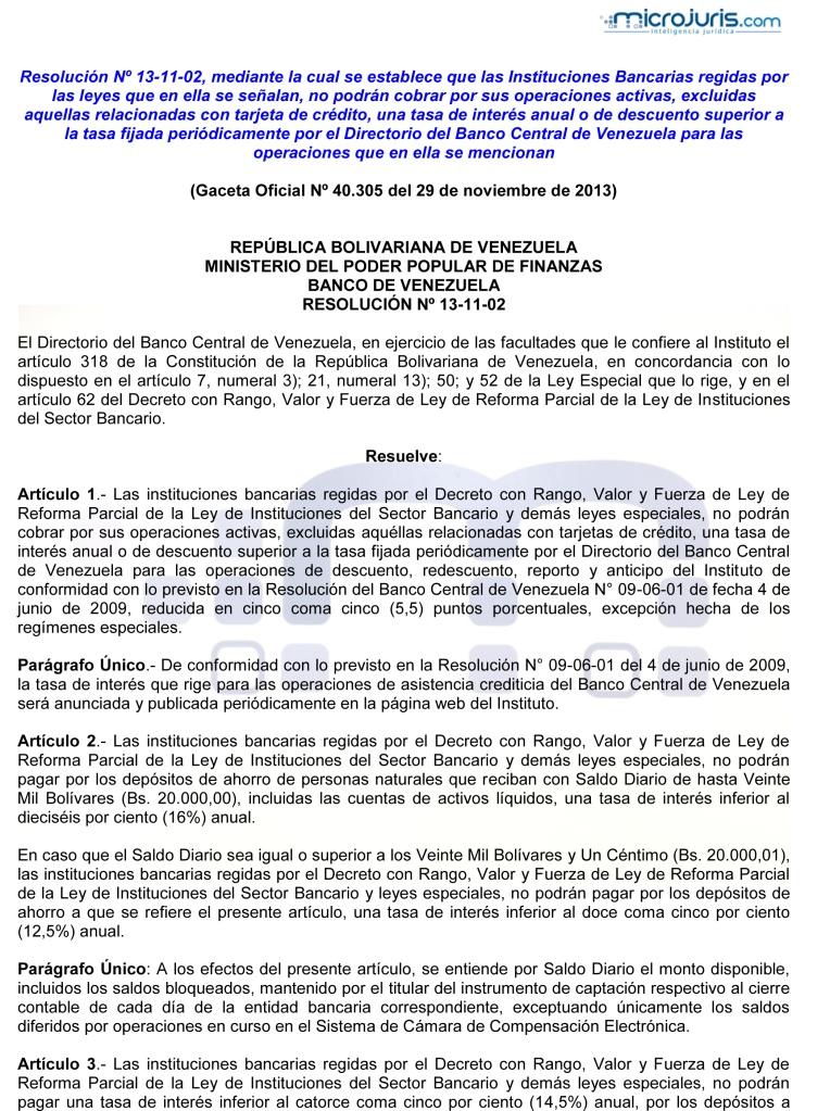 Decreto-Ley de Reforma Parcial de la Ley de Instituciones del Sector Bancario