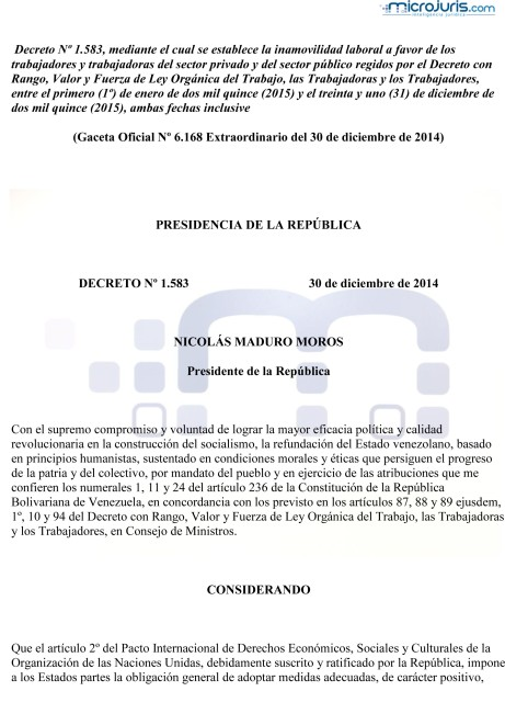 Decreto Nº 1