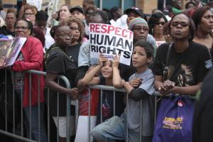Preocupa situación de derechos humanos en Estados Unidos