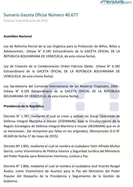 Sumario GO 40677-1
