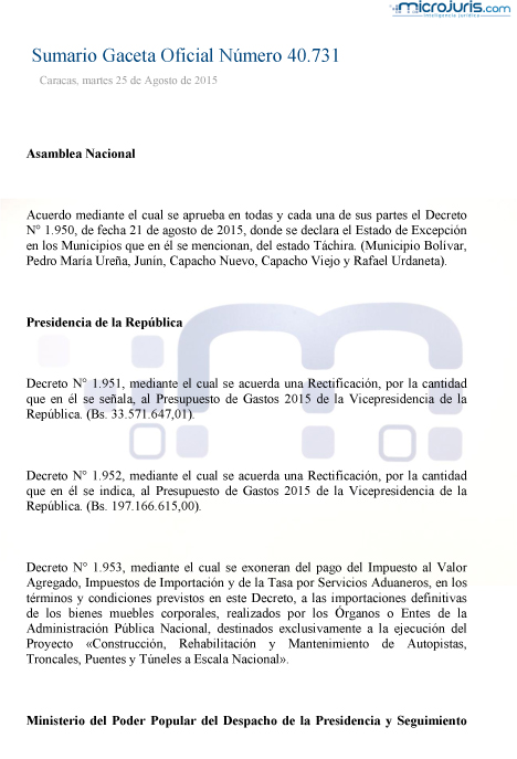 Sumario GO 40731-1