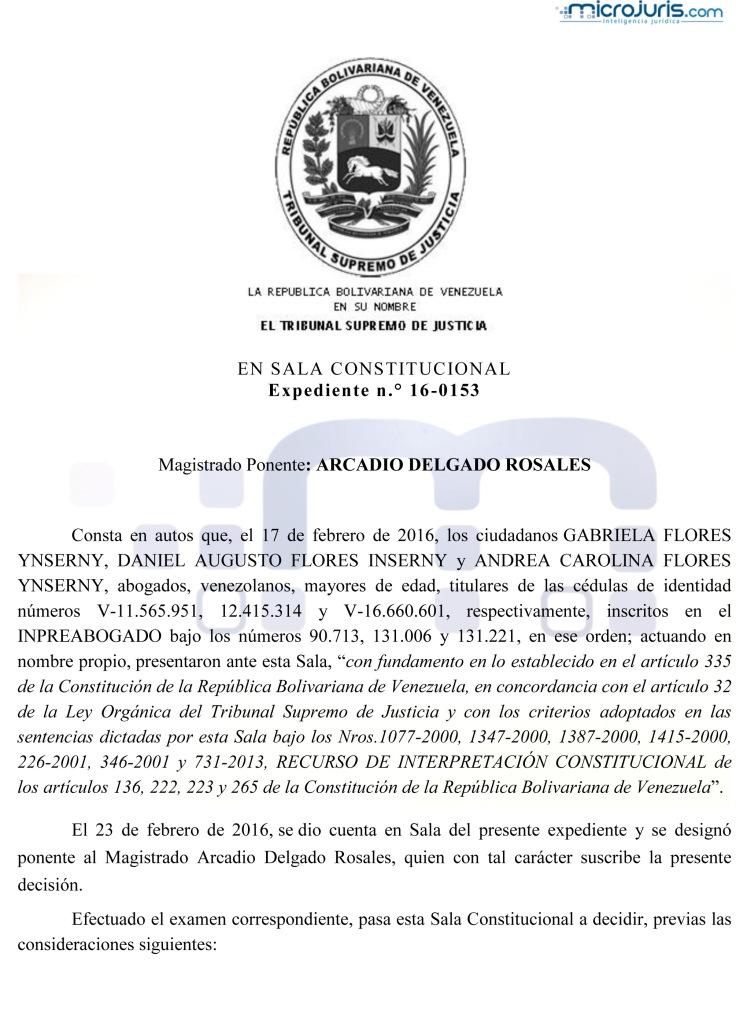 SENTENCIA TSJ SC-16-0153 copy