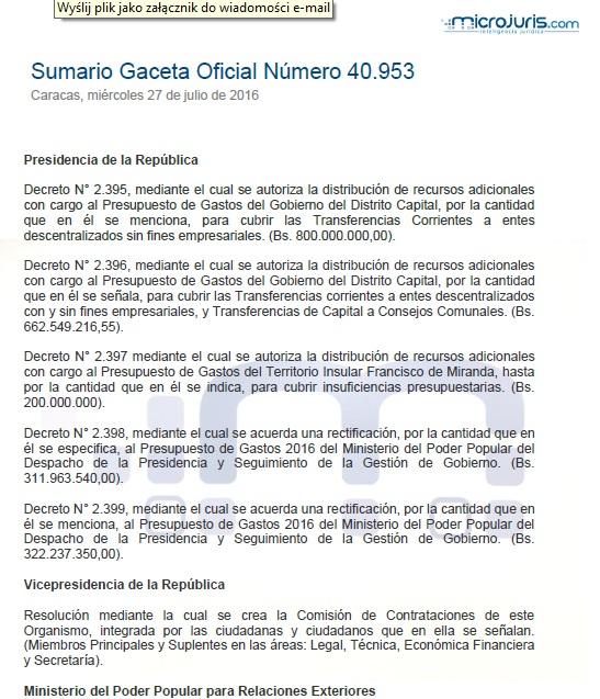 Sumario N° 40.953