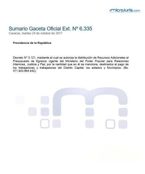 Sumario N° 6.335